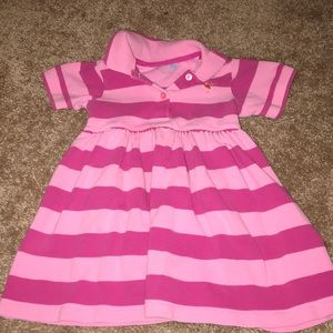 Baby girl polo dress